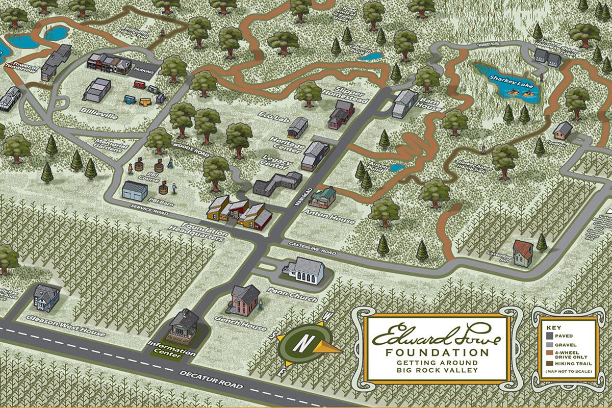BRV map