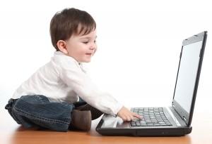 Baby at computer-small